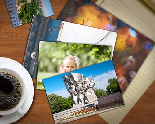 Печать фотографий разных форматов