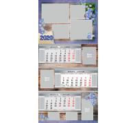 Шаблон календаря Кв-01 на 2019 год с фото на заказ