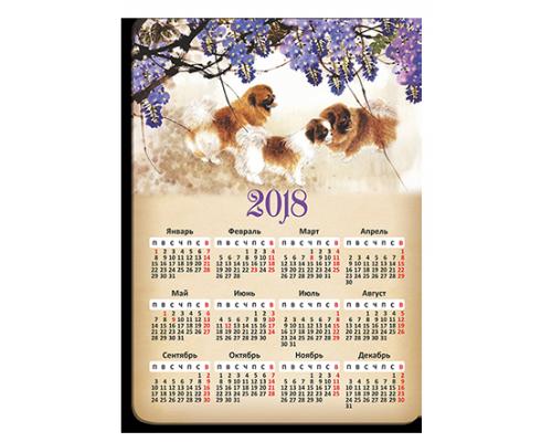 Магнитный календарь с вашим изображением