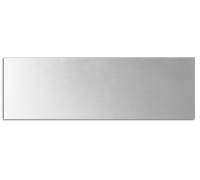 Заказать металлическую табличку 10х30 в Подольске