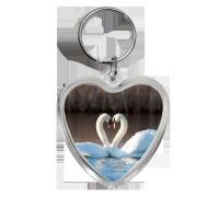 Брелок сердце на 14 февраля