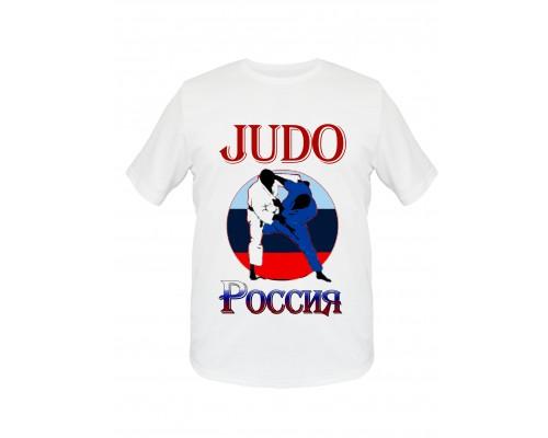 Футболка Дзюдо JU-01V